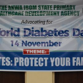AKSPHCDA Partners MWAN On 2019 World Diabetes Day