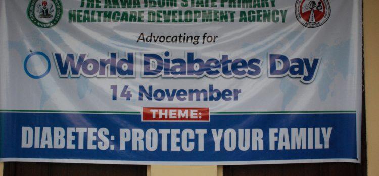 AKSPHCDA Partners MWAN On 2019 World Diabetes Day