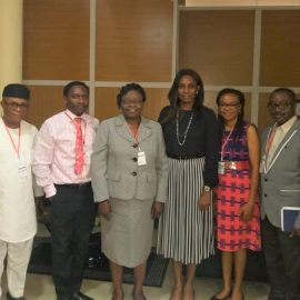 COURTESY CALL FROM OPHTHALMOLOGICAL SOCIETY OF NIGERIA